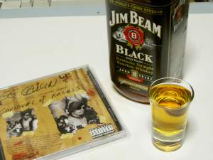 jim beam black, g.g. allin 'carnival of excess'(remaster)